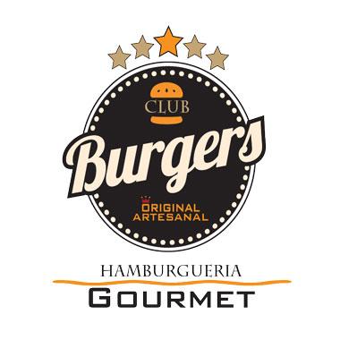 Club Burguer Gourmet escrito em preto 01